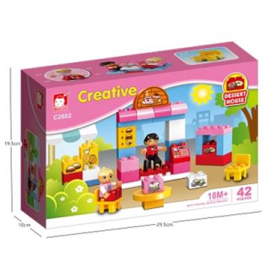 创意积木-甜品屋